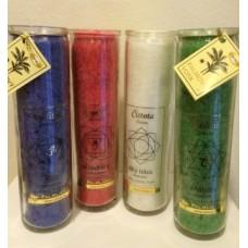 Svíce čakrová - různé druhy