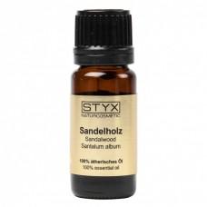 Santalové dřevo, 100% éterický olej, 1ml, Styx
