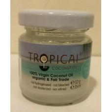 Kokosový olej Tropicai - panenský, BIO, 35ml